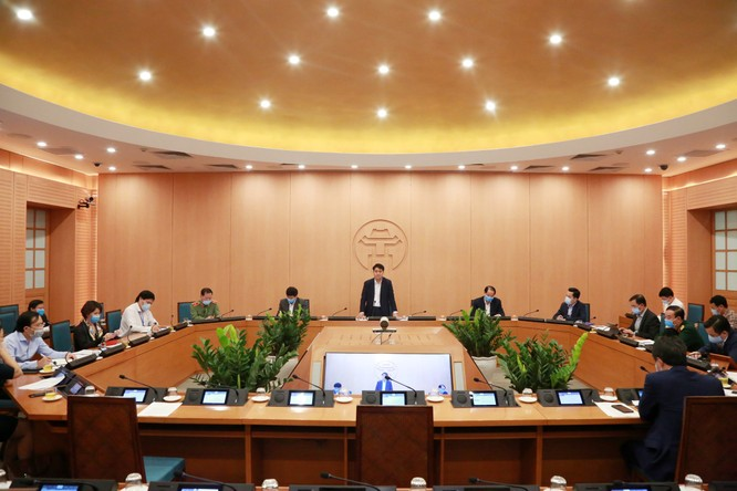 Chủ tịch Hà Nội: Rà soát, phát hiện sớm những người có dấu hiệu mắc COVID-19 là nhiệm vụ số 1 ảnh 1