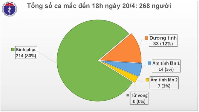 Việt Nam 4 ngày không ghi nhận ca mắc COVID-19 mới, 214 người đã khỏi bệnh ảnh 1