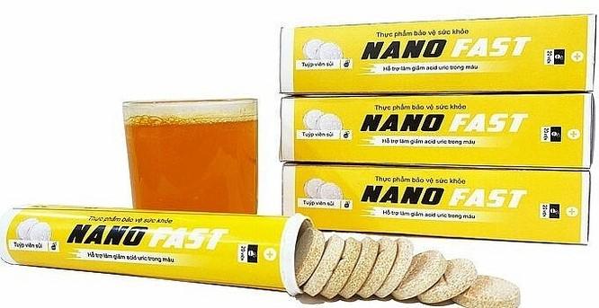 Người tiêu dùng cần cẩn trọng với thông tin quảng cáo sản phẩm Tengsu, Nano fast trên một số website ảnh 1