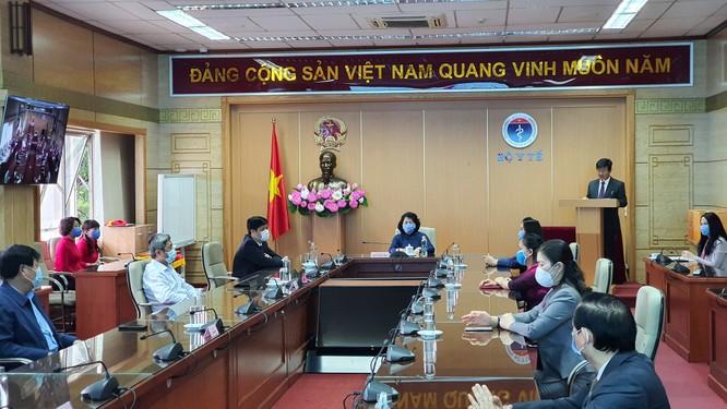 Phó Chủ tịch nước Đặng Thị Ngọc Thịnh: Cuộc chiến chống COVID-19 của Việt Nam bước đầu thành công ảnh 1