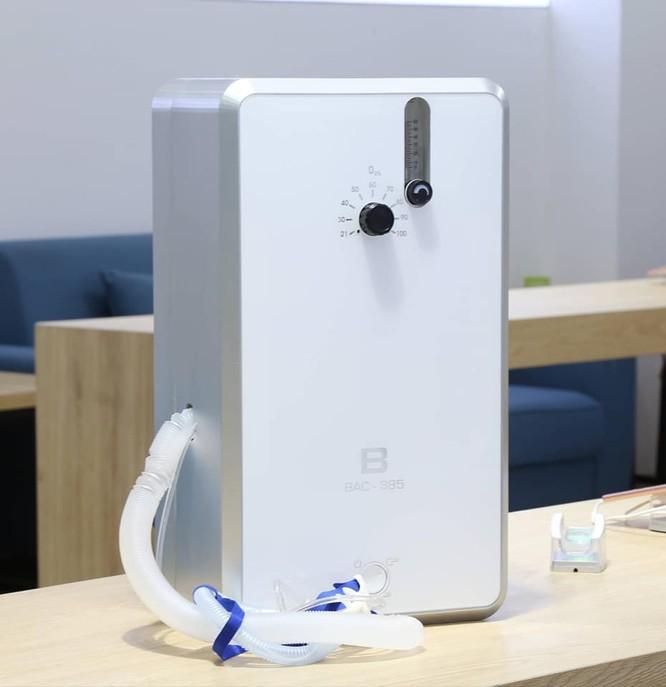 Thực hư chuyện Bkav sản xuất máy trợ thở điều trị bệnh nhân mắc COVID-19 ảnh 3