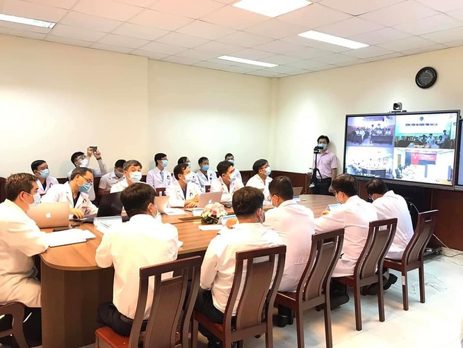 Bệnh viện Răng Hàm Mặt Trung ương TP. Hồ Chí Minh khởi động khám, chữa bệnh từ xa ảnh 1