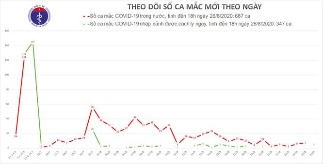 Thêm 5 ca mắc mới, cả nước đã có 29 bệnh nhân mắc COVID-19 tử vong ảnh 1