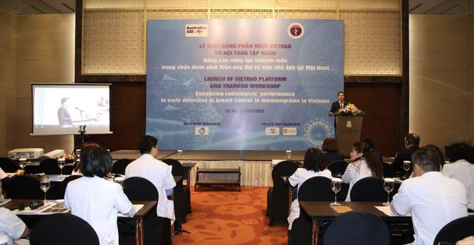Lần đầu tiên, Việt Nam có phần mềm giúp chẩn đoán ung thư vú chính xác tới gần 90% ảnh 1