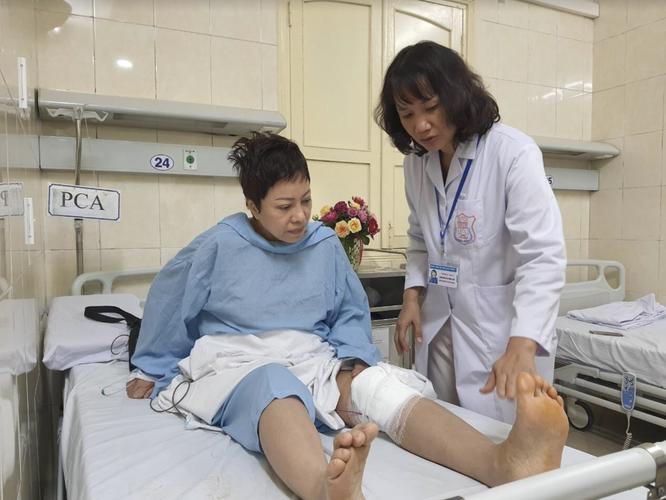 """Hồi sinh khớp gối cho """"bông hồng thép"""" của Đội tuyển bắn súng Việt Nam ảnh 2"""