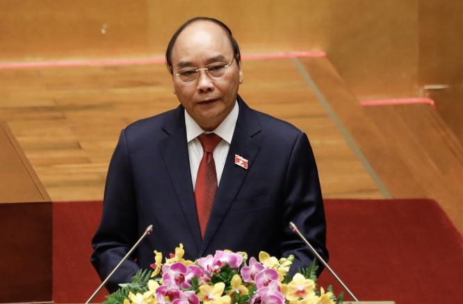 Tân Chủ tịch nước Nguyễn Xuân Phúc hứa sẽ tận tâm, tận lực thực hiện nhiệm vụ ảnh 1