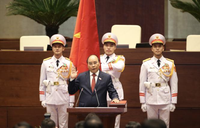 Tân Chủ tịch nước Nguyễn Xuân Phúc hứa sẽ tận tâm, tận lực thực hiện nhiệm vụ ảnh 3