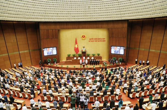 Tân Chủ tịch nước Nguyễn Xuân Phúc hứa sẽ tận tâm, tận lực thực hiện nhiệm vụ ảnh 2