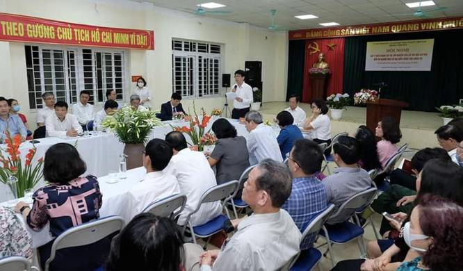 100% cử tri nhất trí giới thiệu Bộ trưởng Bộ Y tế Nguyễn Thanh Long ứng cử Đại biểu Quốc hội khoá XV ảnh 1
