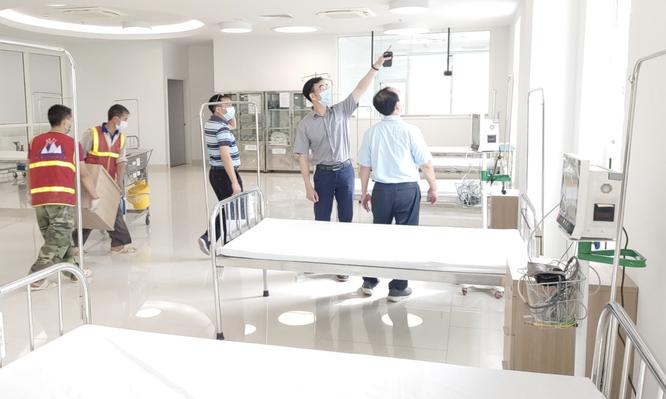 Sau 24h, Bệnh viện Bạch Mai cơ sở 2 ở Hà Nam trở thành bệnh viện dã chiến điều trị COVID-19 ảnh 1