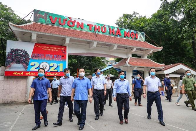 Hà Nội kiểm tra đột xuất công viên, khách sạn, không để lây chéo trong khu cách ly ảnh 3