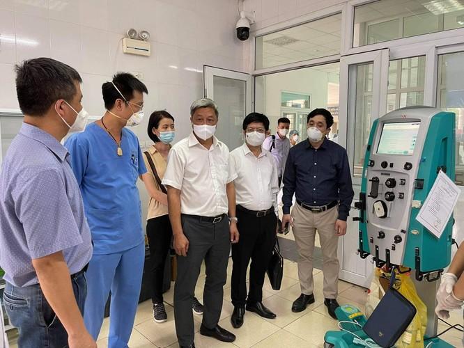 Sau lời kêu gọi của Bộ trưởng Bộ Y tế, các bệnh viện huy động lực lượng chi viện cho Bắc Giang ảnh 4