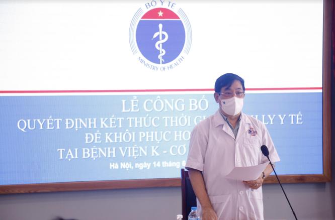 Bệnh viện K Tân Triều được dỡ phong toả ảnh 1