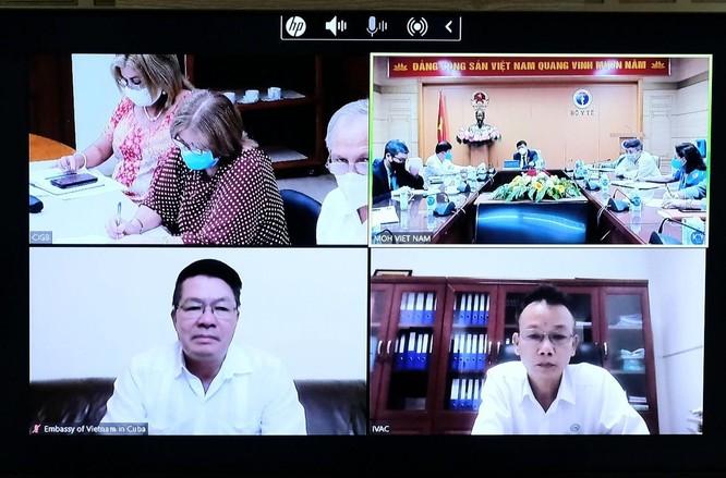 Cuba cam kết cung ứng vaccine phòng COVID-19 Abdala và chuyển giao công nghệ cho Việt Nam ảnh 1