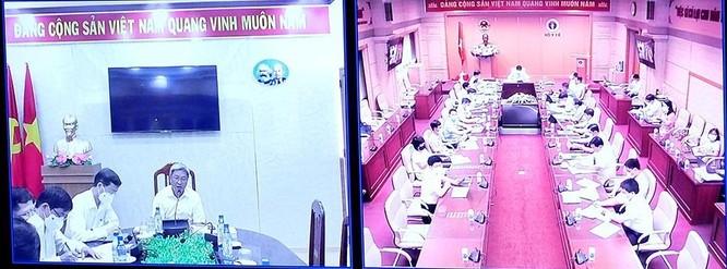 Bộ trưởng Bộ Y tế huy động 10.000 nhân viên y tế vào tâm dịch COVID-19 ở TP. Hồ Chí Minh ảnh 2