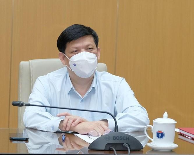 Bộ trưởng Bộ Y tế huy động 10.000 nhân viên y tế vào tâm dịch COVID-19 ở TP. Hồ Chí Minh ảnh 1