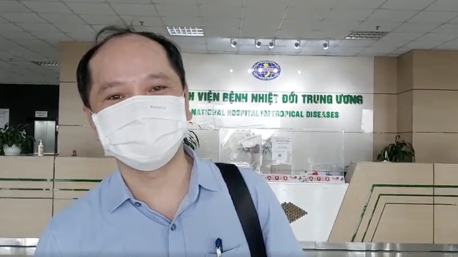 """30 bác sĩ, điều dưỡng của BV Bệnh Nhiệt đới Trung ương lên đường """"chia lửa"""" với TP. Hồ Chí Minh ảnh 2"""