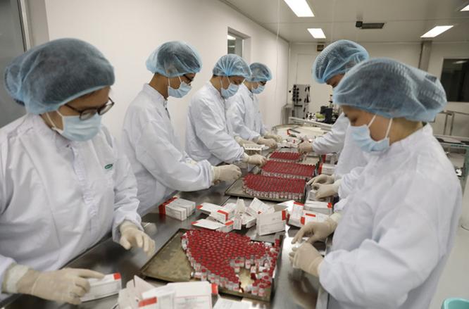 Lô vaccine phòng COVID-19 Sputnik V đầu tiên được gia công ở Việt Nam như thế nào? ảnh 9