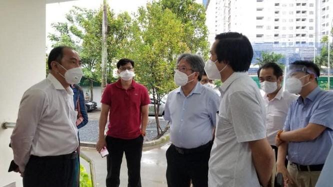 Giám đốc BV Hữu nghị Việt Đức chọn BV Dã chiến số 13 làm Trung tâm hồi sức cho bệnh nhân COVID-19 ảnh 1