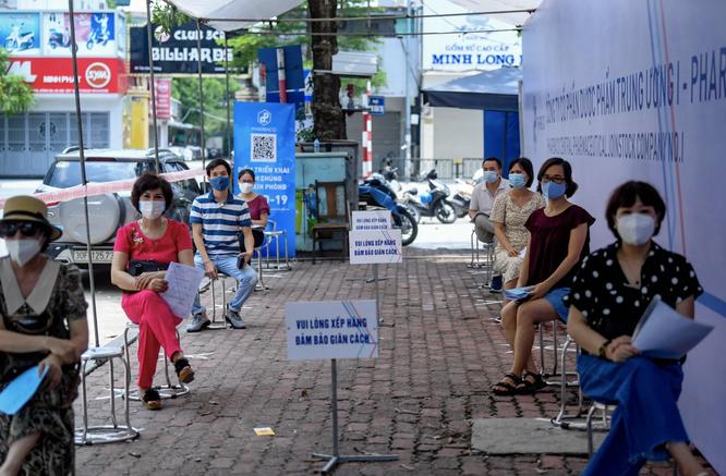 Công ty cổ phần Dược phẩm Trung Ương I - Pharbaco giúp Hà Nội đẩy nhanh tốc độ tiêm vaccine COVID-19 ảnh 2