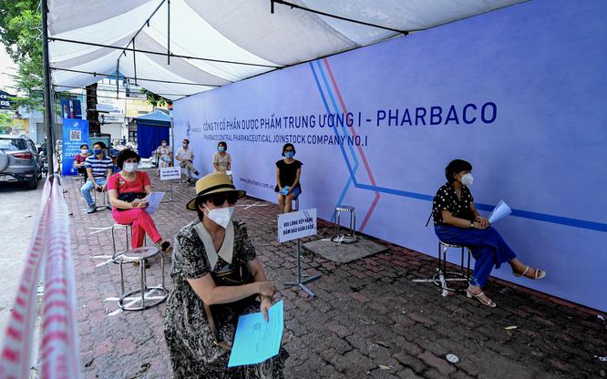 Công ty cổ phần Dược phẩm Trung Ương I - Pharbaco giúp Hà Nội đẩy nhanh tốc độ tiêm vaccine COVID-19 ảnh 3