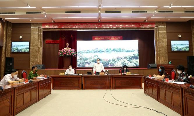 Hà Nội tiếp tục giãn cách xã hội đến ngày 6/9 để phòng dịch COVID-19 ảnh 1