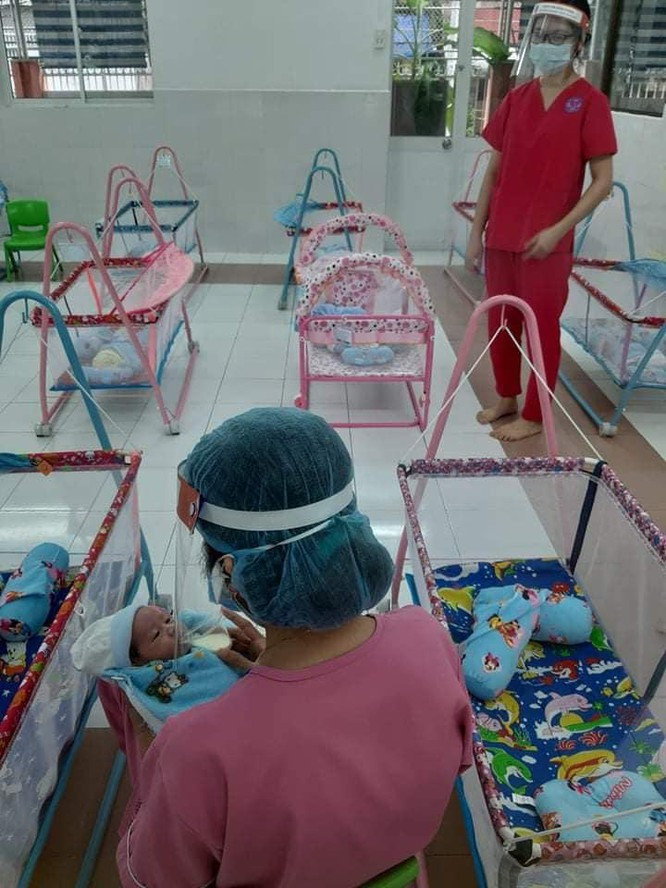 H.O.P.E - nơi bù đắp yêu thương cho trẻ sơ sinh có mẹ mắc COVID-19 ở TP. HCM ảnh 1