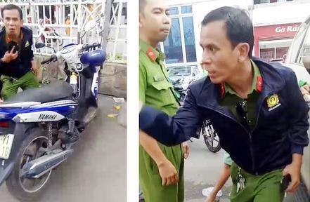 """""""Lật mặt"""" kẻ giả làm công an để trộm xe máy ảnh 2"""