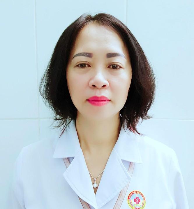 BS Nguyễn Thị Bích Huê (Chủ nhiệm khoa Da liễu, Bệnh viện Quân Y 175)
