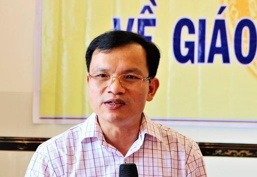 Ông Mai Văn Trinh - Cục trưởng Cục Quản lý chất lượng (Bộ GDĐT)