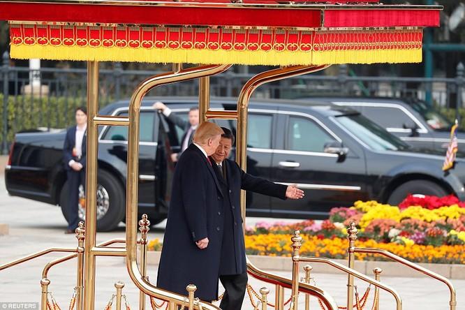 Trung Quốc trải thảm đỏ và 'núi thỏa thuận' 250 tỷ USD đón ông Trump ảnh 8