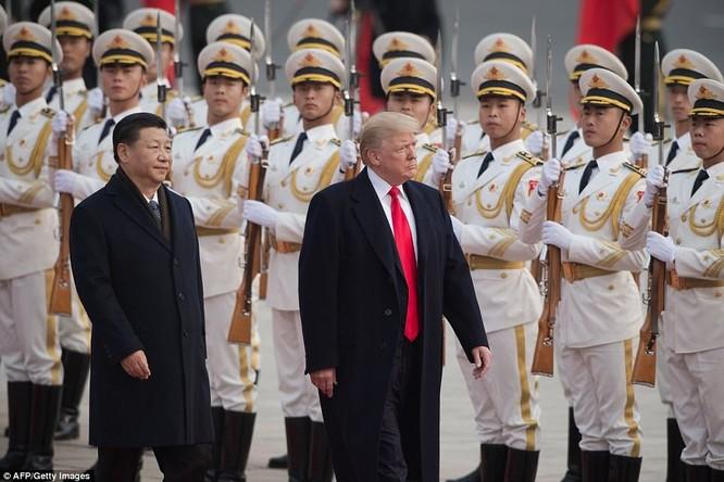 Trung Quốc trải thảm đỏ và 'núi thỏa thuận' 250 tỷ USD đón ông Trump ảnh 4