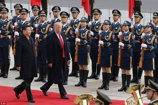 Trung Quốc trải thảm đỏ và 'núi thỏa thuận' 250 tỷ USD đón ông Trump ảnh 5