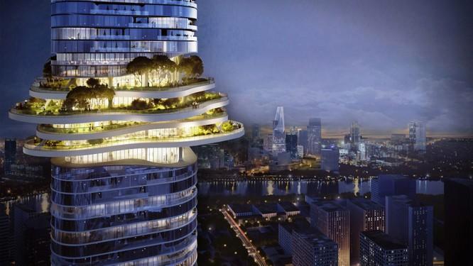 """Tiết lộ kế hoạch xây tòa nhà """"rừng trên lưng trời"""" hoành tráng nhất Việt Nam ảnh 1"""