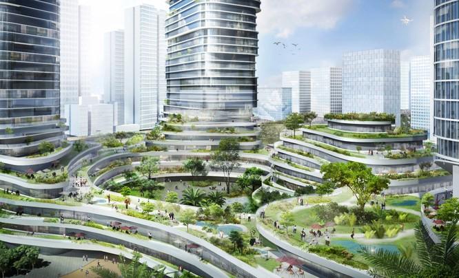 """Tiết lộ kế hoạch xây tòa nhà """"rừng trên lưng trời"""" hoành tráng nhất Việt Nam ảnh 4"""