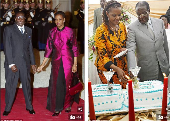 Tổng thống Zimbabwe Mugabe: Nước nghèo, gia đình sống vương giả ảnh 9