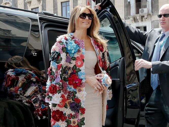 Melania Trump: Từ siêu mẫu thời trang đến đệ nhất phu nhân nước Mỹ ảnh 14