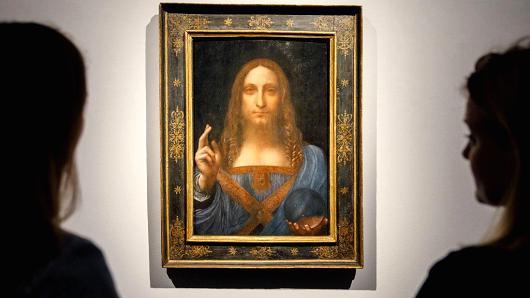 Ai đã mua bức tranh trị giá 450 triệu USD? ảnh 1