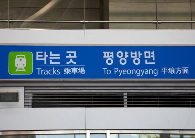 Cận cảnh Bàn Môn Điếm - Nơi mặt đối mặt giữa hai miền Triều Tiên ảnh 15