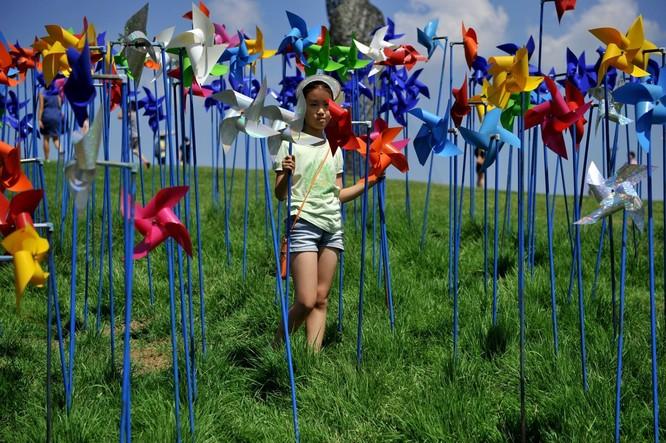 Cận cảnh Bàn Môn Điếm - Nơi mặt đối mặt giữa hai miền Triều Tiên ảnh 27