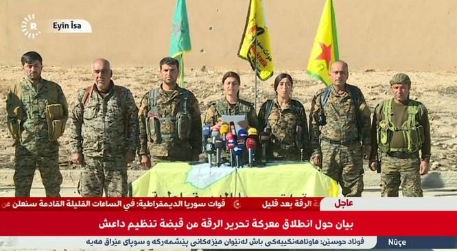 Mỹ bí mật chuyển tên lửa phòng không cho người Kurd Syria ảnh 1