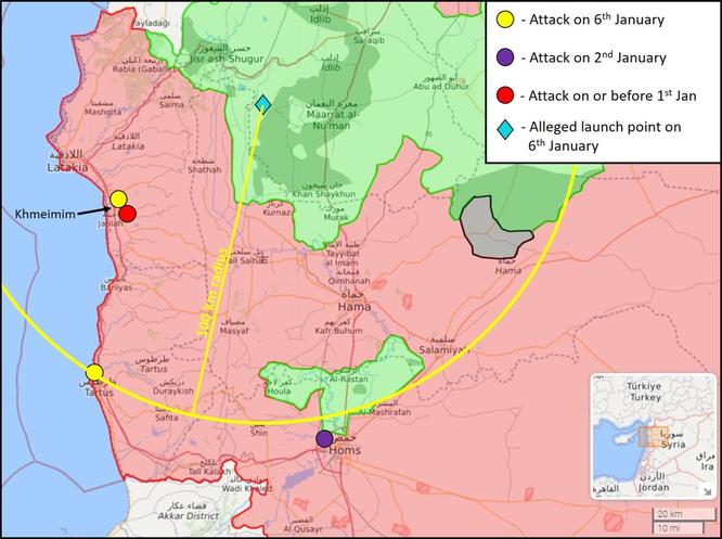 Giải mã vụ căn cứ Nga ở Syria bị tấn công ồ ạt (P.1) ảnh 1