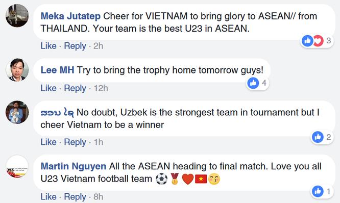Cổ động viên cho 2 ứng viên vô địch U-23 châu Á nói gì trước trận quyết đấu? ảnh 7