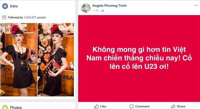 Sao Việt cuồng nhiệt cổ vũ U23 Việt Nam trước thềm trận Chung kết ảnh 3