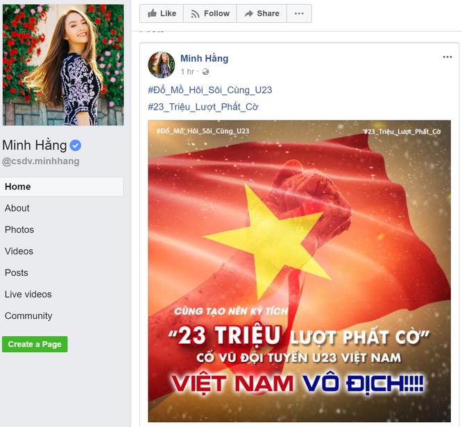 Sao Việt cuồng nhiệt cổ vũ U23 Việt Nam trước thềm trận Chung kết ảnh 7