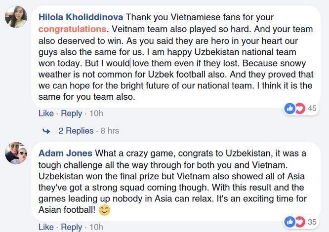Fan quốc tế khâm phục Việt Nam sau trận chung kết AFC U23 ảnh 2