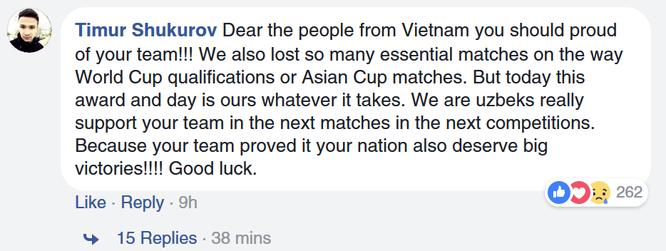 Fan quốc tế khâm phục Việt Nam sau trận chung kết AFC U23 ảnh 5
