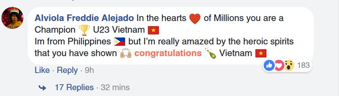 Fan quốc tế khâm phục Việt Nam sau trận chung kết AFC U23 ảnh 9