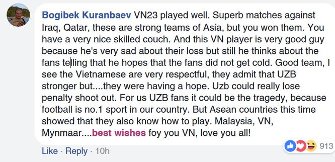 Fan quốc tế khâm phục Việt Nam sau trận chung kết AFC U23 ảnh 12