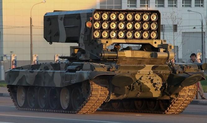 """""""Sát thần"""" Nga TOS-1A gieo rắc kinh hoàng trên chiến trường Syria ảnh 1"""
